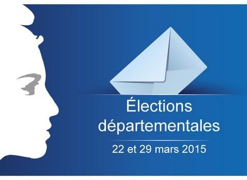 Elections départementales © Site du Ministère de l'Intérieur