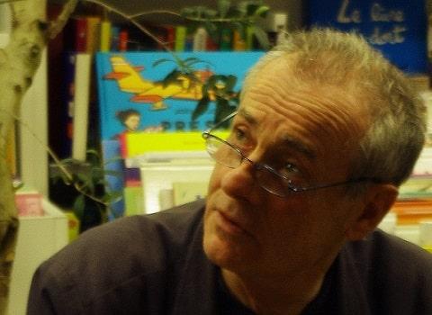 Jean Rolin présente son dernier roman à la librairie Le Square. © Lise Blein-Renaudot