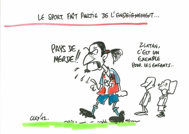 Dessin de presse de Cled'12 - débat à l'occasion des élections départementales Isère