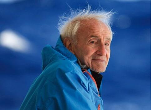 Claude Lorius, glaciologue et pionnier des forages glaciaires, premier à faire le lien entre gaz à effet de serre et changement climatique. Crédit