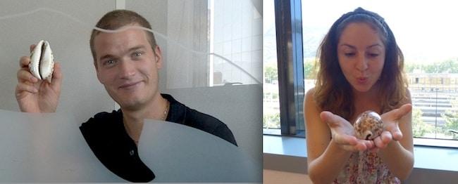 Jérôme Guilmain et Audrey Bouvier, fondateurs de Troccauris, plate-forme web d'échanges d'objets. Credit Troccauris