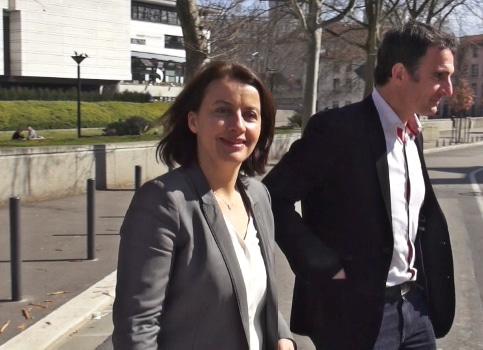 Cécile Duflot et Éric Piolle © Joël Kermabon - placegrenet.fr