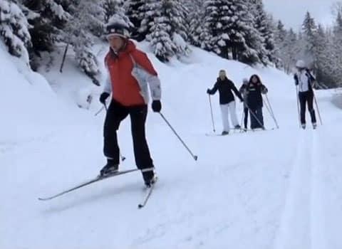 Osez le nordique initiation au ski nordique aux 7 Laux © Stéphane Poirot