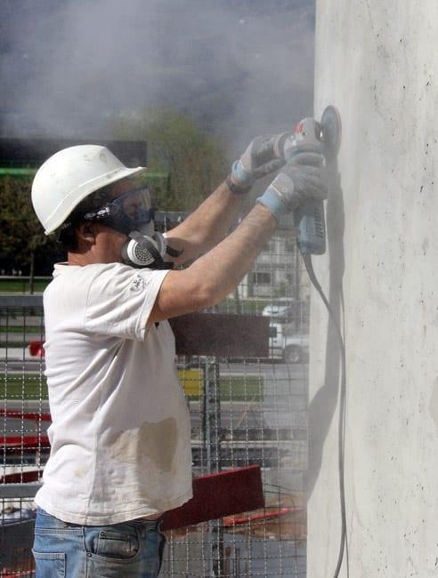 Les industriels sont invités à limiter les activités génératrices de poussières © Fanny Chatchate