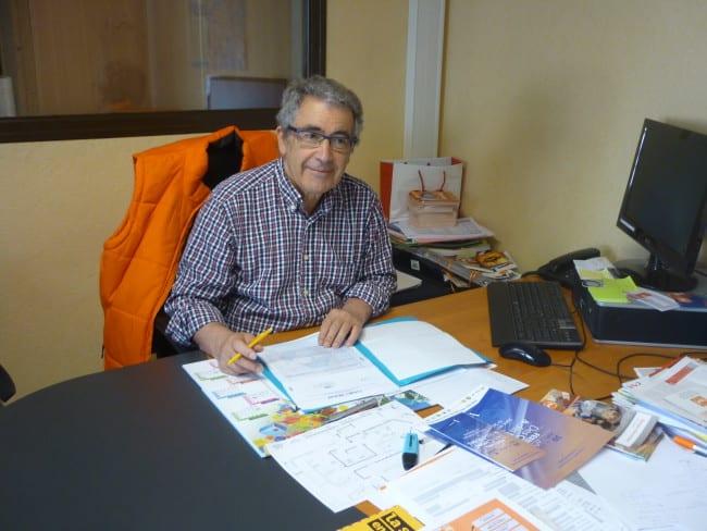 Bernard Perry, président de la banque alimentaire.