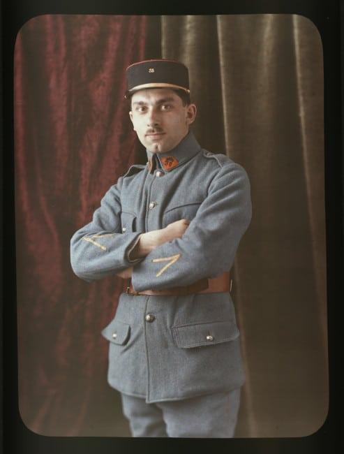 Edmond Arnaud en militaire