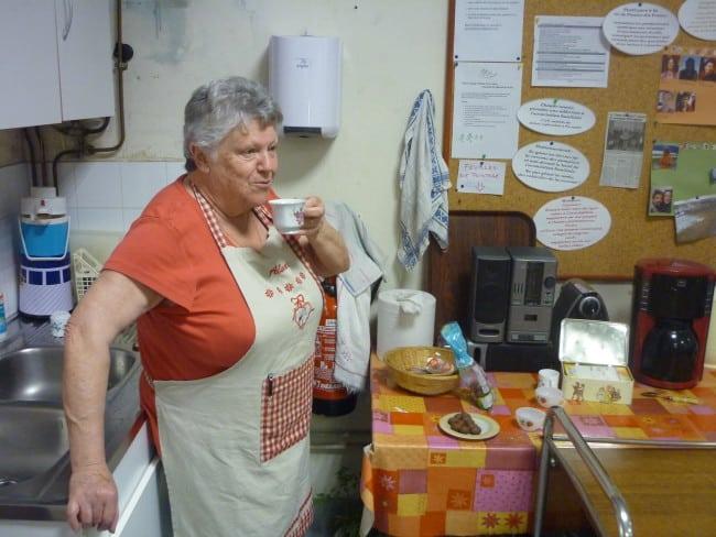 Marie, bénévole de l'association familiale de Saint-Egrève depuis 42 ans