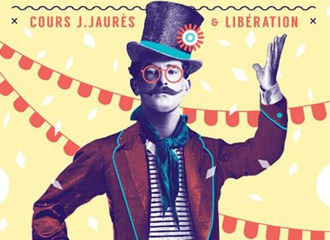 Affiche de la Fête des tuiles le 6 juin 2015 à Grenoble © Ville de Grenoble