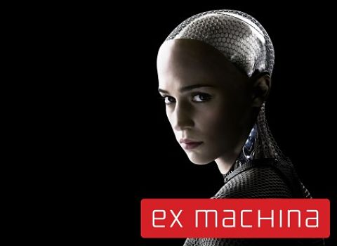 Affiche du film Ex Machina - intelligence artificielle