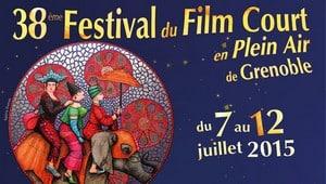 Le 38ème Festival du Film Court en Plein Air de Grenoble revient du 7 au 12 juillet. © Cinémathèque de Grenoble