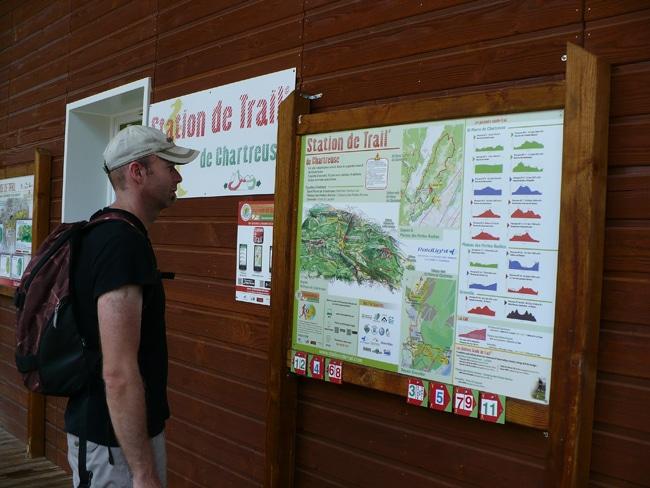 des descriptions de parcours de trail sont accessible librement à la Station de trail- Delphine Chappaz
