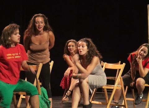 Rencontres jeune Théâtre Européen. © Joel Kermabon - placegrenet.fr