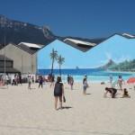 Entre sport, détente et convivialité, la Plage de Grenoble est un lieu à découvrir cet été. © AD2S
