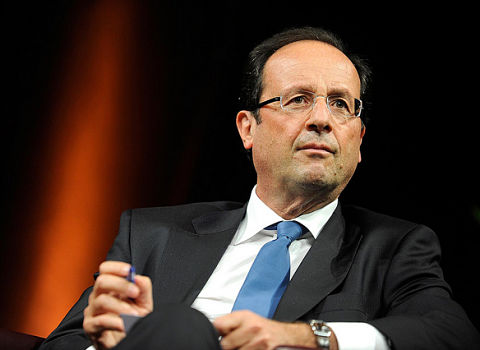 François Hollande. DR