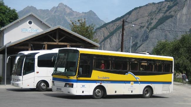 Tout comme les trams et bus de la TAG, les cars Transisère sont également gratuits lundi 1er juillet © Loïc Perrin