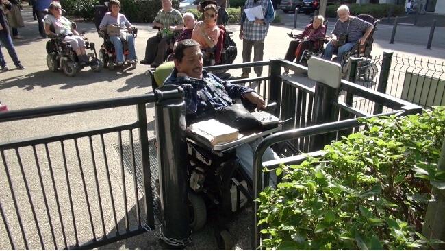 L'innovation en matière d'accessibilité des personnes en situation de handicap est au coeur de l'appel à projets de la Région © Joël Kermabon - Place Gre'net