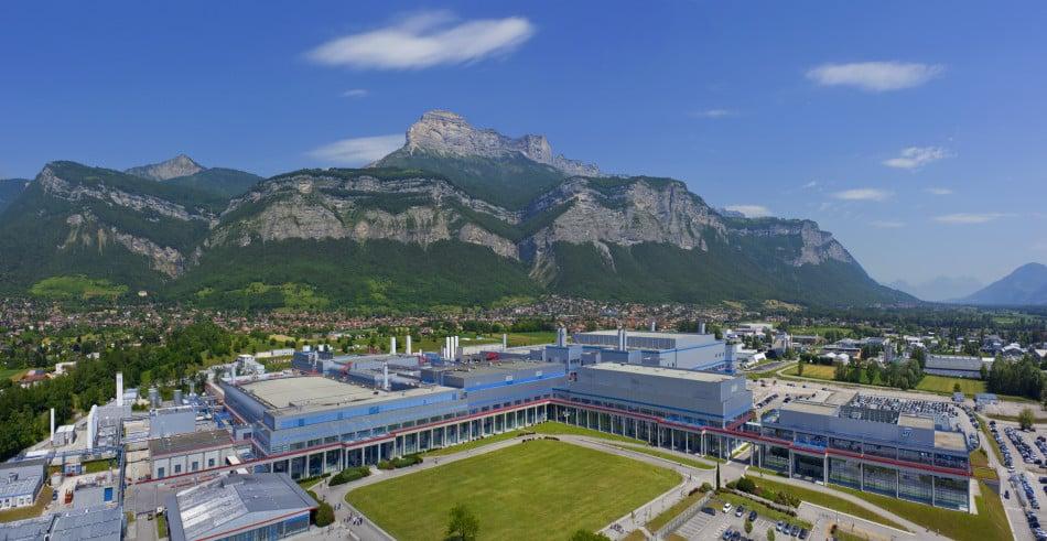 Le site STMicroelectronics de Crolles. © Artechnic