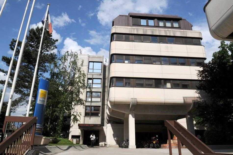 Bâtiment Conseil départemental. © Frédérick Pattou