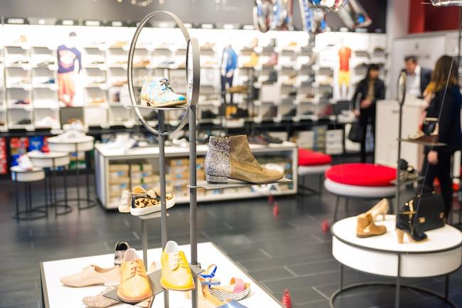 L'aménagement des magasins a été imaginé par l'agence parisienne Intangibles. © Pierre Jayet