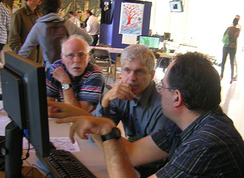 UNE Journées GreLibre (Grenoble) stand OSM