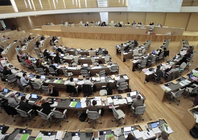 Assemblée plénière du Conseil régional Auvergne-Rhône-Alpes © Région Auvergne-Rhône-Alpes