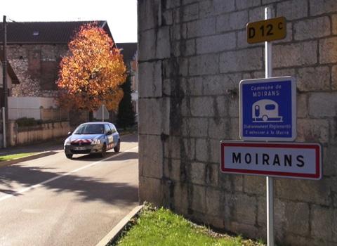 Entrée de Moirans. © Joël Kermabon - Place Gre'net