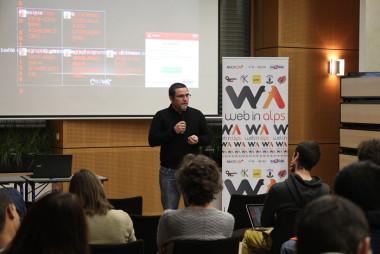 Conférence Web in Alps (WIA10) samedi 28 novembre 2015 à la Chambre des métiers et de l'artisanat de l'Isère. DR