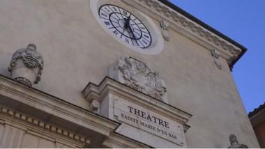 La façade du théâtre Sainte-Marie-d'en-Bas. © JOël Kermabon - Place Gre'net