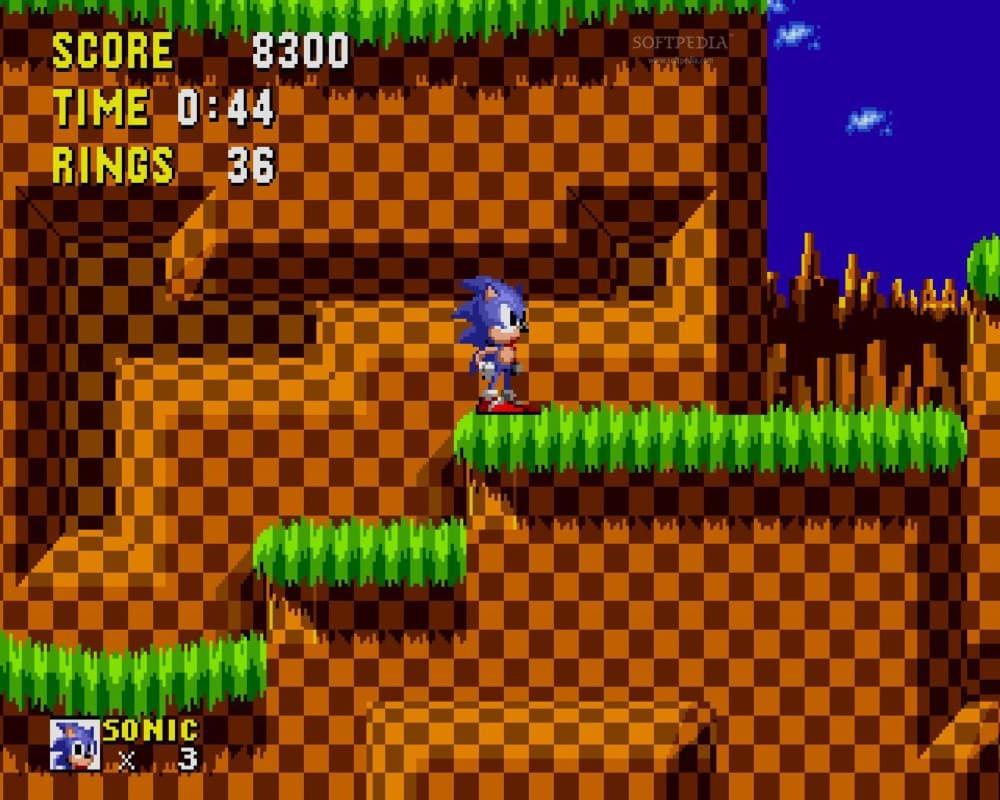 Sonic le Hérisson, figure mythique des années 90. DR