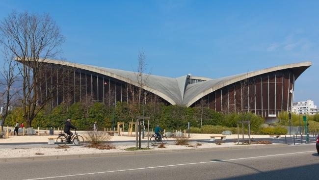 Grenoble lance un appel à projets artistiques pour la célébration des JO d'hiver de 1968 et l'ouverture du Palais des sports au public en février 2018.Le Palais des sports de Grenoble. DR