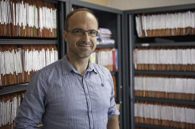 James Faricelli, fondateur et PDG d'All Sécurité Incendie. © Ciel Studio