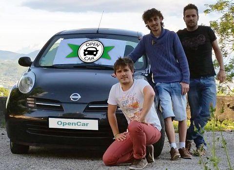 Les fondateurs d'OpenCar, la première plate-forme gratuite de covoiturage local.