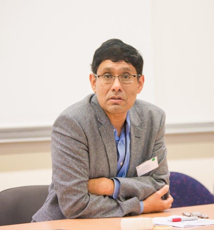 Prith Banarjee, Directeur Général de l'Innovation Technologique de Schneider Electric. © Pierre Jayet