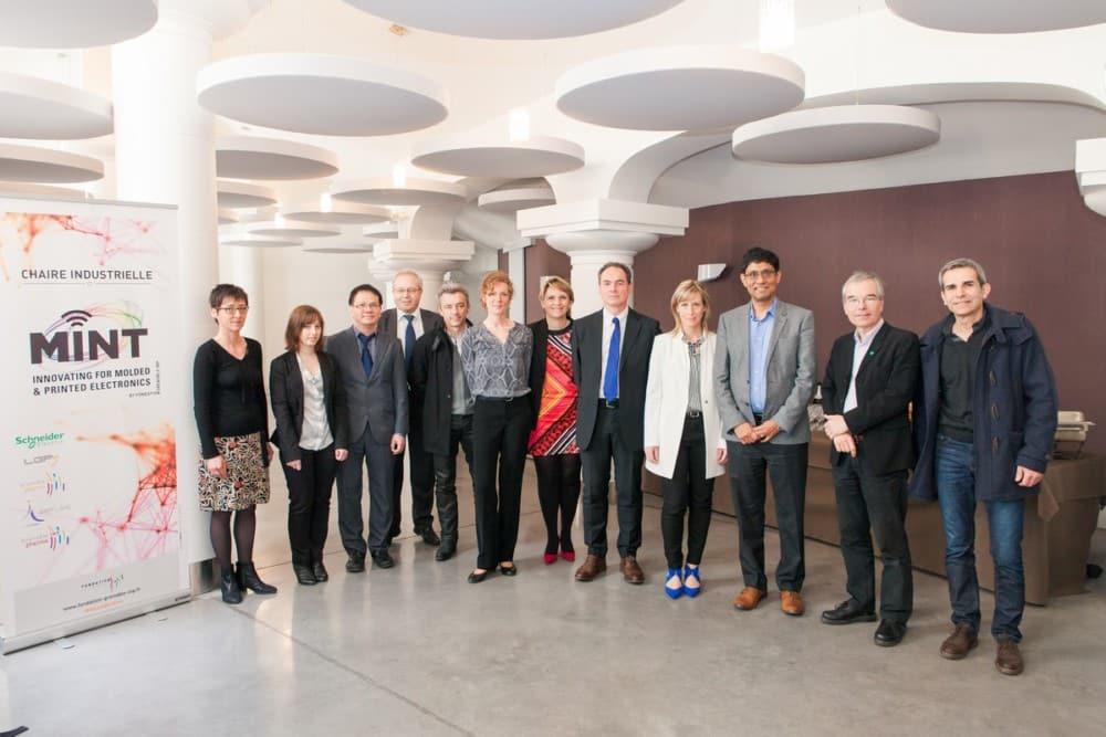 Grenoble INP et Schneider Electric : une nouvelle chaire plastronique qui marque un partenariat historique ? © Pierre Jayet
