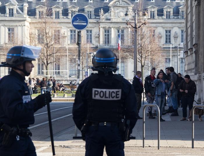 Manifestation contre la loi El Khomri, Grenoble, 17 mars 2016. © Yuliya Ruzhechka - www.placegrenet.fr