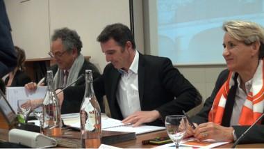 Éric Piolle lors du conseil municipal du 21 mars 2016. © Joël Kermabon - Place Gre'net