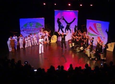 Représentation du spectacle Batu'Capoeira