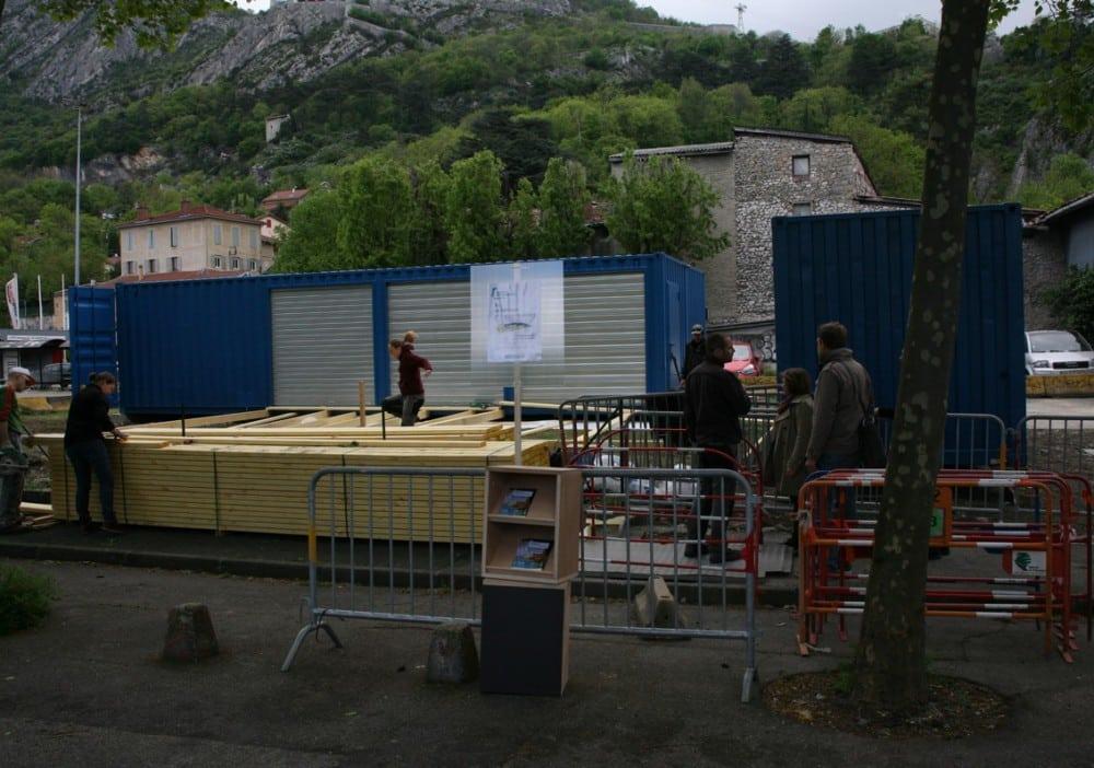 Grenoble bient t une maison du projet pour re co - La maison de la place saignon ...