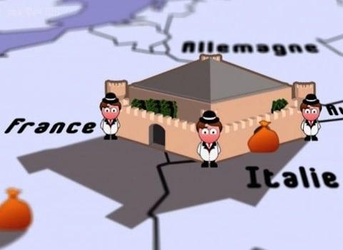 """Denis Dupré, enseignant chercheur à Grenoble et ancien banquier, dénonce l'évasion fiscale. Sa pétition en ligne a réuni 112.000 signatures. Image extraite du documentaire « évasion fiscale, le hold-up du siècle"""" de Xavier Harel."""