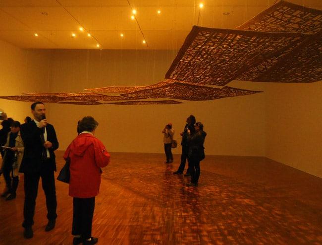 Exposition de Cristina Iglesias au Musée de Grenoble. © Cassandre Jailliffier - placegrenet.fr