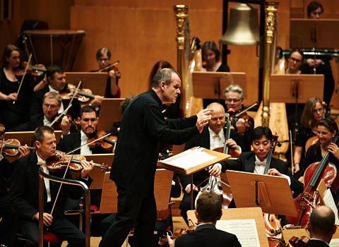 L'orchestre Gürzenich. Crédits Matthias Baus