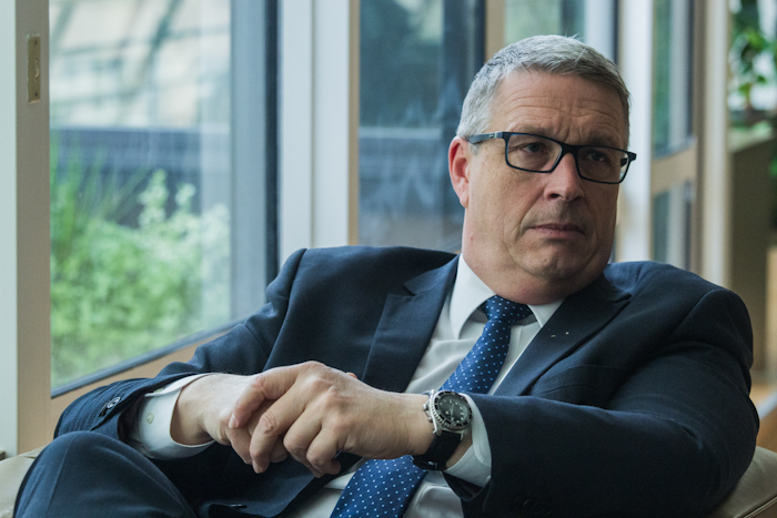 Jean-Pierre Barbier, président du Département de l'Isère. © Yuliya Ruzhechka - Place Gre'net