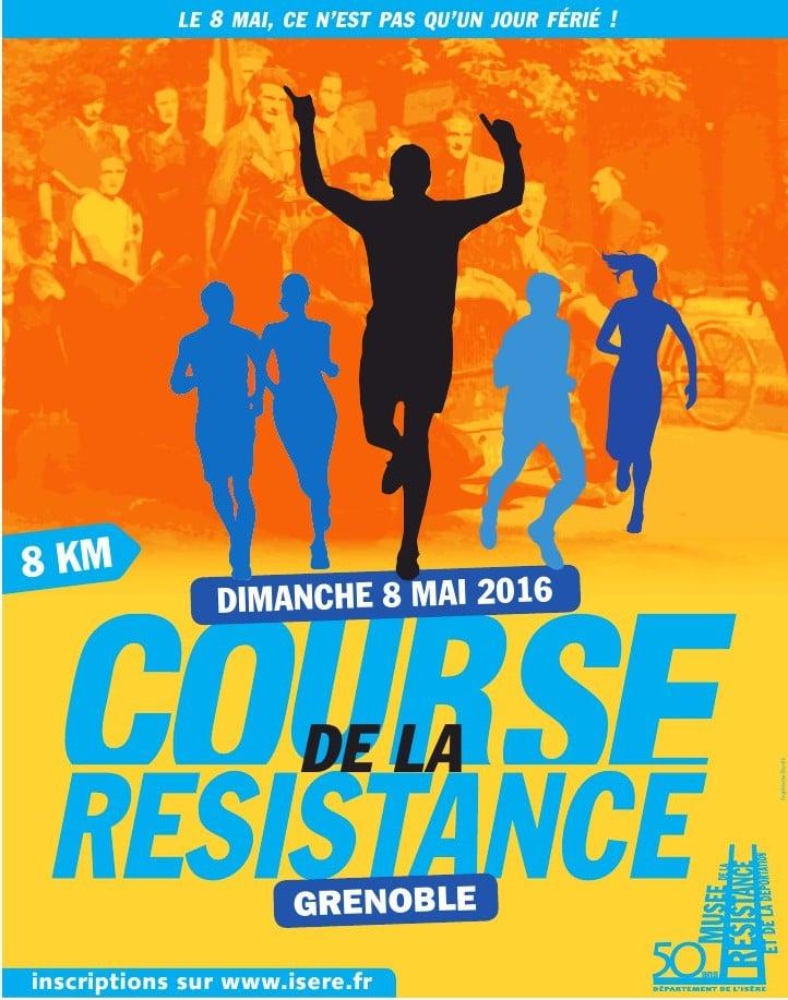 « Le 8 mai, ce n'est pas qu'un jour férié ! », slogan de la Course de la Résistance édition 2016.