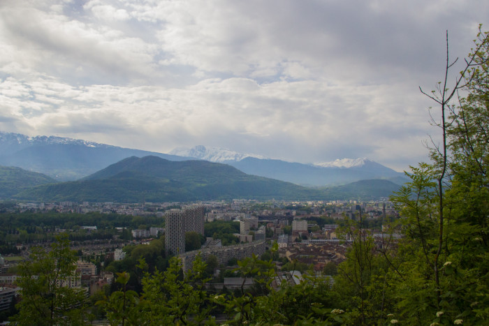 Vue sur Grenoble, site Saint-Laurent. © Yuliya Ruzhechka - Place Gre'Net