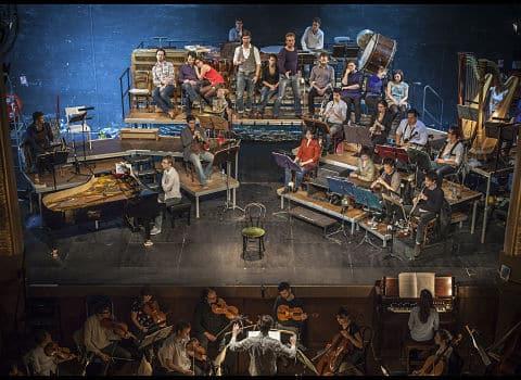 Les musiciens de l'ensemble Le Balcon