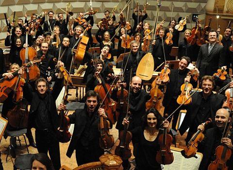 Les musiciens de l'ensemble Les Siècles
