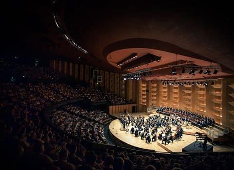 Orchestre national de Lyon. Crédits photo David Duchon-Doris
