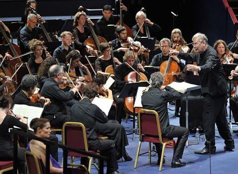 Les musiciens de l'orchestre Révolutionnaire et Romantique