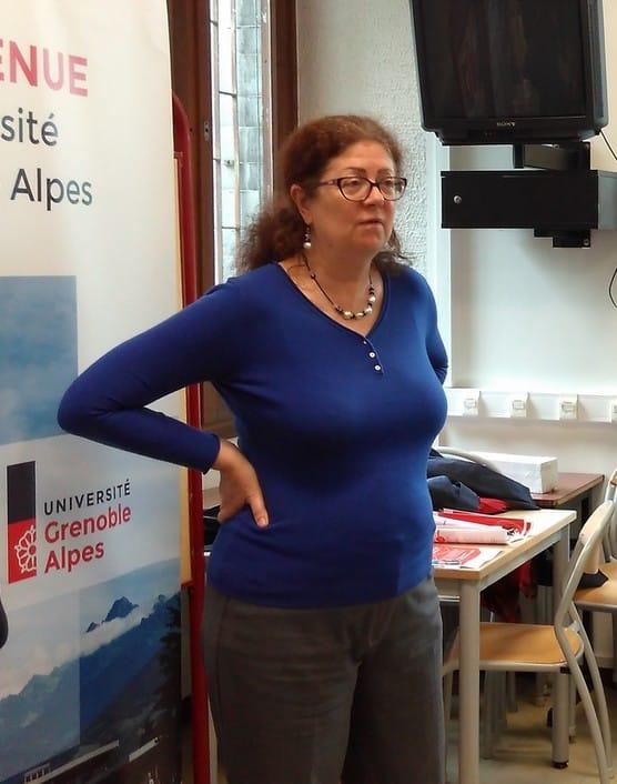 Lise Dumasy, présidente de l'UGA