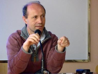 Patrick Colin de Verdière, militant. © Alexandra Moullec